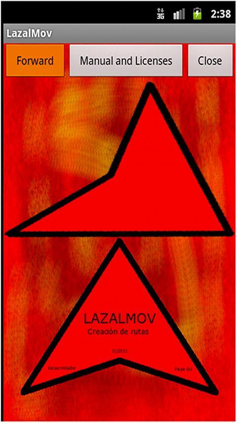 LazalMovFree, Creating Routes- screenshot