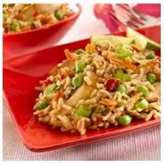 Chicken Satay Fried Rice.