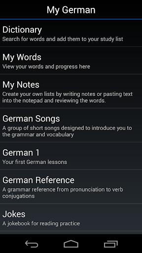 My German