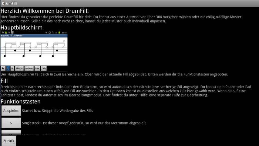 DrumFill by RTF- screenshot