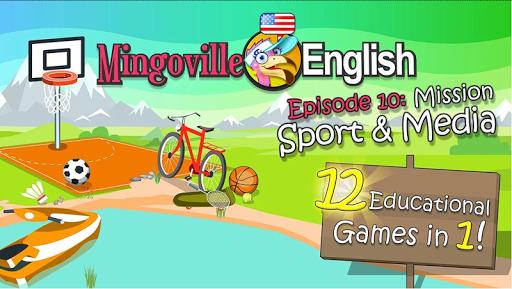 兒童英語 10: Mingoville中的'運動項目和媒體