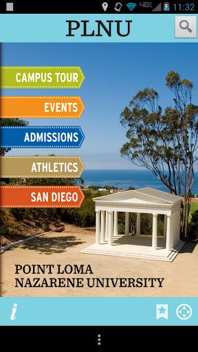 Tour PLNU San Diego CA