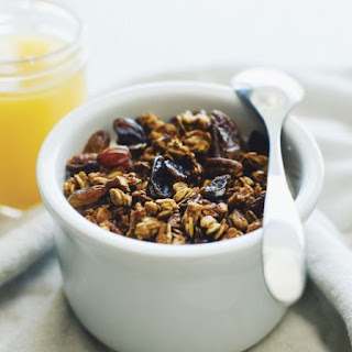 Pumpkin Spice Granola with Toasted Pepitas