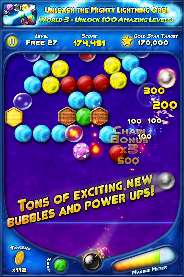 Bubble Bust! HD Bubble Shooter- screenshot