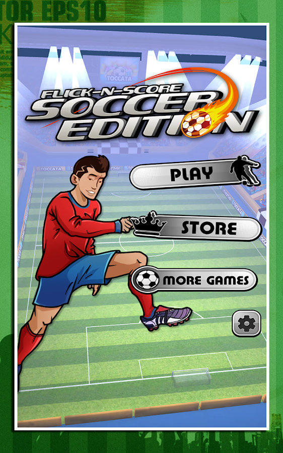 Flick-n-Score - Soccer Edition- screenshot