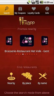 HAPP: dining place promotions!- screenshot thumbnail