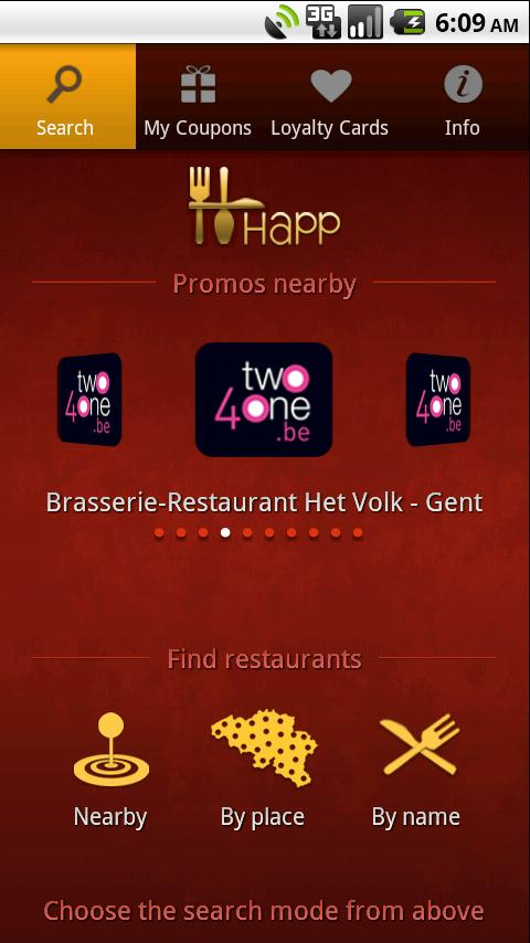 HAPP: dining place promotions!- screenshot