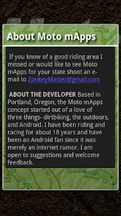 Moto mApps Oregon FREE- screenshot thumbnail