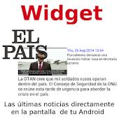 Widget del diario EL PAIS