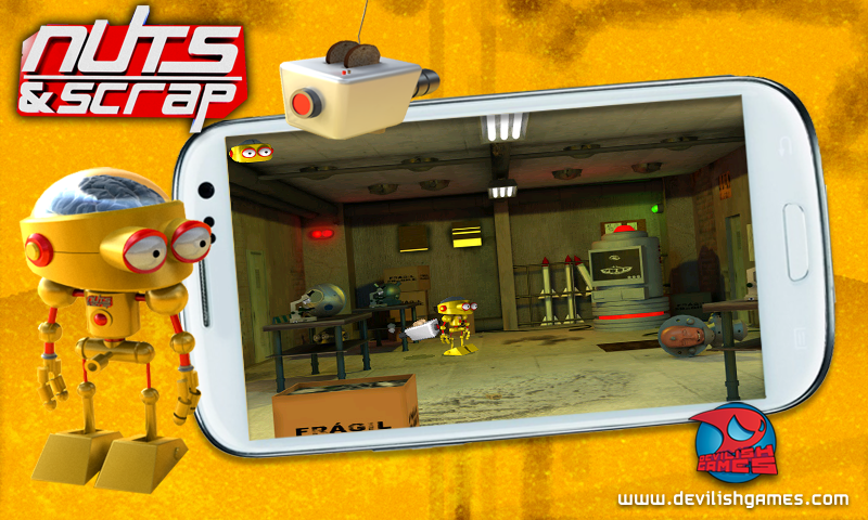 Nuts And Scrap- screenshot