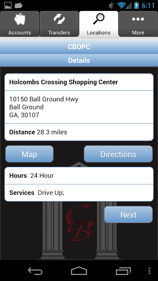 CBOPC Mobile Banking - screenshot