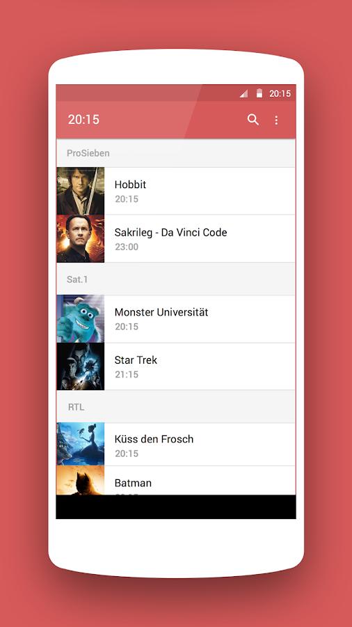 TV Programm ON AIR - screenshot