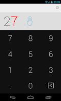 Screenshot of Swipe Calculator FREE