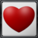 Valentine's keyboard icon