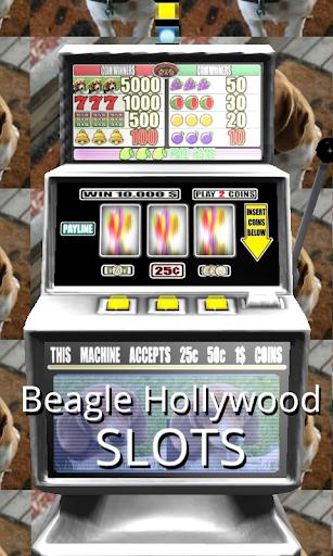 3D Beagle Hollywood Slots