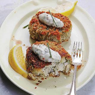 Crispy Haddock Cakes.