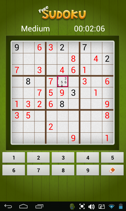 Free Sudoku - screenshot