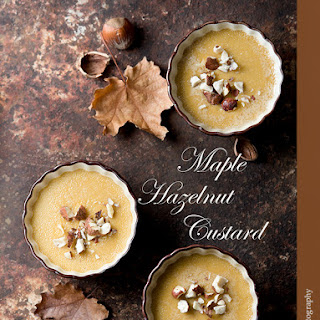 Maple Hazelnut Custard