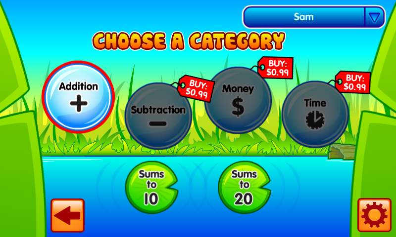 Bubble Pop Math Challenge 1-2 - screenshot