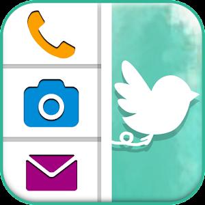 簡単にアプリ起動できるランチャー Homee Slider