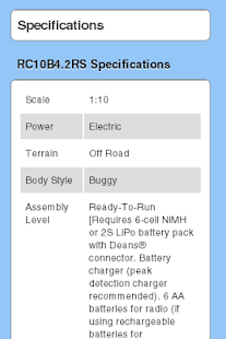 RC10B4.2RS Essentials - screenshot thumbnail