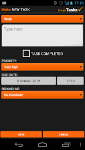 ToDo list - Private Tasks Free screenshot 3