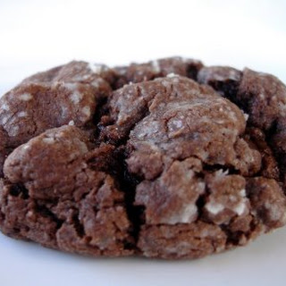Chocolate Ooey Gooey Butter Cookies.