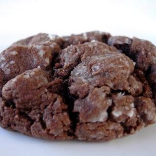 Chocolate Ooey Gooey Butter Cookies.