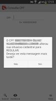 Screenshot of Consulta CPF FREE