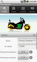 Screenshot of MotoAgenda