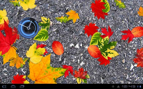 Autumn Leaves Free LWP- screenshot thumbnail