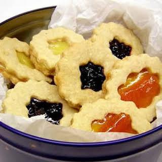 Linzer Torte Cookies.