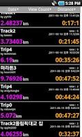 Screenshot of RunMateGPS