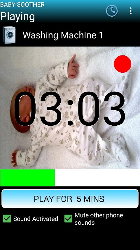 Baby Soother- screenshot
