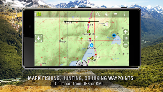 BackCountry Navigator TOPO GPS - screenshot thumbnail