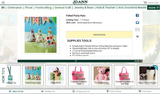 Jo-Ann Inspire for Tablets