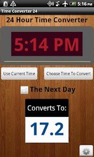 Time Converter 24 Free- screenshot thumbnail