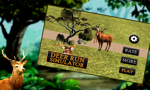 Deer Run Simulator 3D