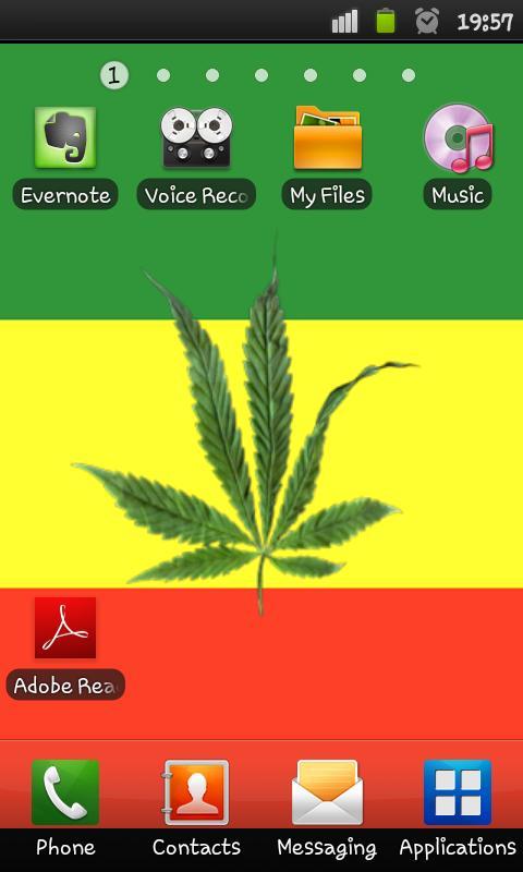 Marijuana 3D Live Wallpaper - screenshot