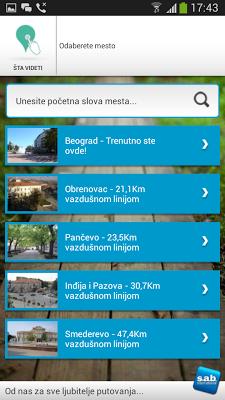 Turisticki Vodic sa mapama - screenshot
