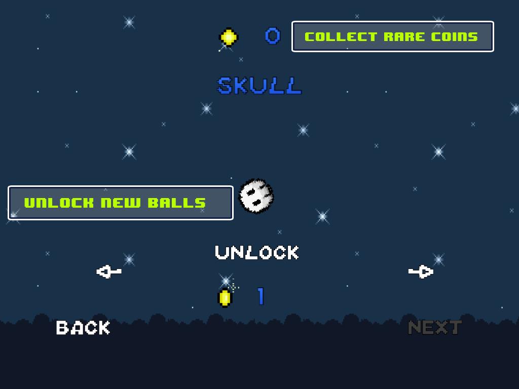 Retro Bouncing Ball- screenshot