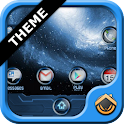 ADWTheme Blue Galaxy icon