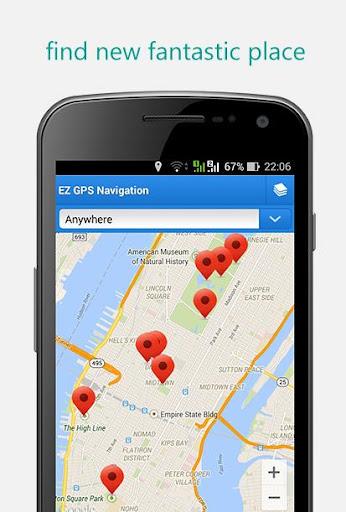 EZ GPS Navigation