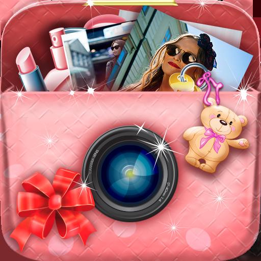 生活App|美女相機效果拼貼- 自畫像照片編輯 LOGO-3C達人阿輝的APP