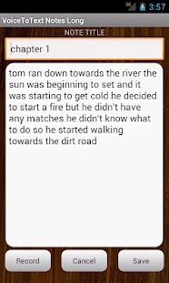 VoiceToText Notes Long- screenshot thumbnail