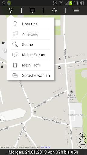 Bonn Köln Offline Nacht Tag