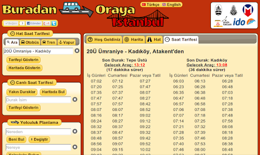 Turkey Journey Planner- screenshot thumbnail