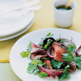 Sirloin Salad with Cilantro Recipe