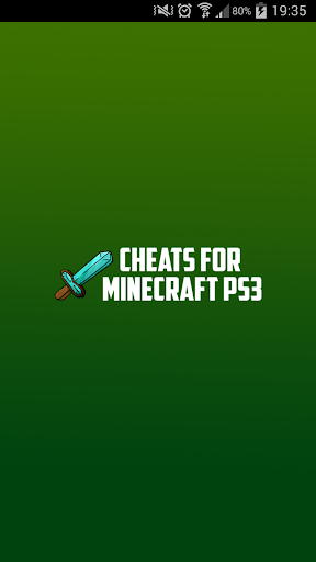 Cheats for Minecraft PS3