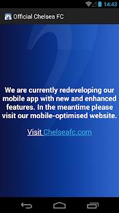Official Chelsea FC - screenshot thumbnail